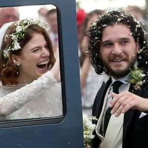 WOW! Kit Harrington and Rose Leslie Tied The Knot