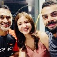 These Pictures Of Anushka Sharma Chilling With Virat Kohli's Gang Make Her The Coolest Wife