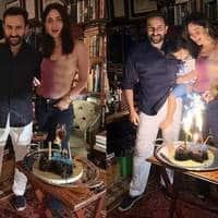 Saif Ali Khan And Kareena Kapoor Khan Celebrate Their 7th Anniversary, But Its Son Taimur Who Seems To Be The Happiest!