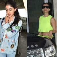 Spotted: Navya Naveli Nanda Snapped With Mom Shweta, Malaika, Rakul Preet Show Us How To Workout In Style!