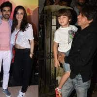Shah Rukh Khan Goes For The Lion King Premiere With Family; TV And Bollywood Celebs Also Attend!