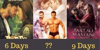 12 Bollywood Blockbusters Of Last 3 years And How Soon They Reached 100 Crores