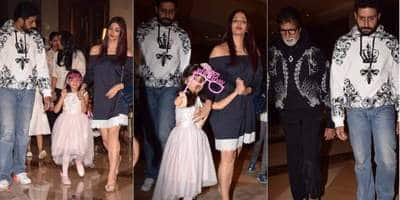 In Pictures: This Is How The Bachchans Celebrated Aaradhya's Birthday!