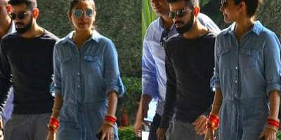 Spotted: Virat & Anushka's First Pictures Ahead Of Their Mumbai Reception At St Regis