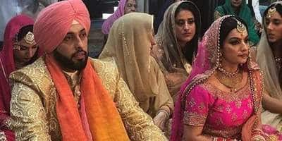 Yeh Hain Mohabbatein's Villain, Sangram Singh Ties The Knot In Punjab; See Wedding Pictures!