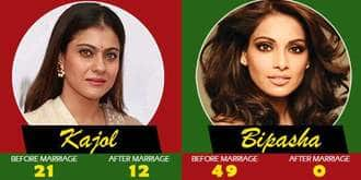 8 Popular Leading Ladies And A Comparison Of Their Pre And Post Wedding Careers In Bollywood