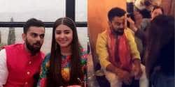 In Videos : Anushka Sharma and Virat Kohli's Haldi And Engagement Ceremony