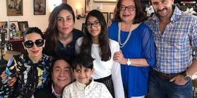 Taimur Ali Khan Steals The Show At Kapoors Christmas Brunch With Kareena, Saif, Karisma, Ranbir!