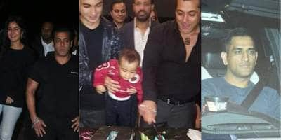 In Pics: Salman Khan Celebrates His Birthday With Katrina Kaif And Friends From Bollywood