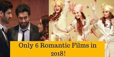 Is Romance Dying In Bollywood? Well The Upcoming Bollywood Films Of 2018 Prove So!