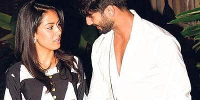 Shahid Kapoor, Mira Rajput taking couple goals to another level. See pic