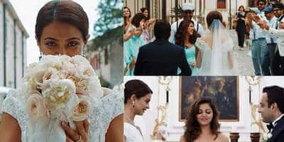 Unseen Pictures From Surveen Chawla's Italian Wedding!
