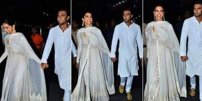 Deepika Padukone And Ranveer Singh Make Their Relationship Official As They're Spotted Hand-In-Hand At Padmaavat's Screening!