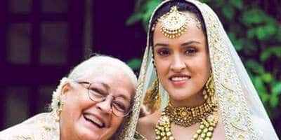 Move Over Anushka Sharma, Nafisa Ali's Daughter Too Wore A Fairytale Sabyasachi Bridal Lehenga!
