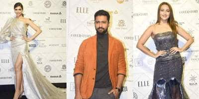 Bollywood Seems To Be Too Much In Love With Metallic Fashion At Elle Beauty Awards 2018
