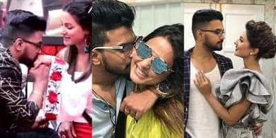 In Pictures: Hina Khan And Rocky Jaiswal's Love Story Will Reinstate Your Faith In Love!