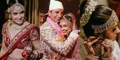 10 Pictures That Prove That Yuvika Chaudhary Is The Most Beautiful Bride Ever!