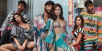 These Pictures From Ranveer Singh And Victoria's Secret Model Sara Sampaio's Photoshoot Are Uber Cool!