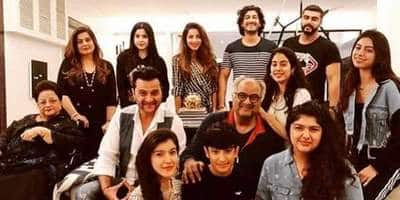 Arjun, Janhvi, Khushi And Anshula Come Together To Celebrate Dad Boney Kapoor's Birthday!