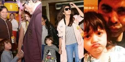 These Pictures Prove That Even Celebs Are As Smitten By Abram Khan As We Are