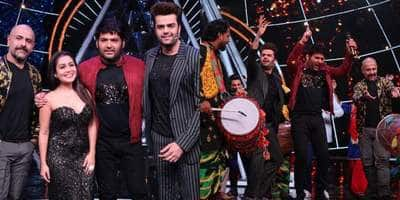 In Pictures: Kapil Sharma Has A Sort Of Bachelor Party On The Sets Of Indian Idol 10!