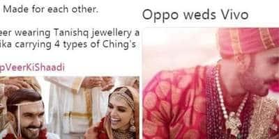 रणवीर-दीपिका की शादी पर ये मजेदार ट्वीट पढ़कर, हंसते-हंसते आपके जबड़े दर्द करने लगेंगे !
