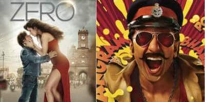 Zero v/s Simmba Is Bringing Back 3 Year Old Memories: Will History Repeat Itself?