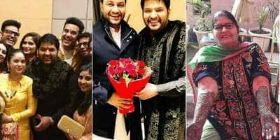 Kapil Sharma Looks Like A Happy Groom With Friends And Family On The Way To His Wedding
