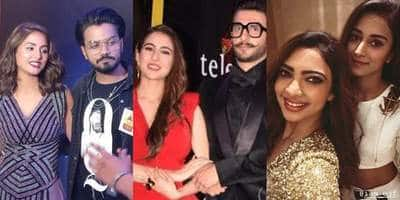 In Pictures: TV Celebs Along With Ranveer Singh And Sara Ali Khan Jazz Up An Award Night!