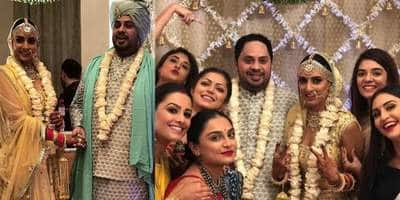 In Pictures: TV Stars Come Together To Celebrate Additi Gupta's Wedding