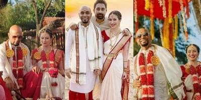 In Pictures: Raghu Ram And Natalie Di Luccio's Wedding Proves That Fairytales Can Be Simple!