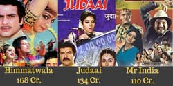14 Highest Grossing Bollywood Films Of Sridevi After Adjusting For Inflation