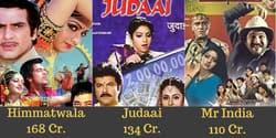14 Highest Grossing Bollywood Films Of Sridevi After Adjusting For Inflation