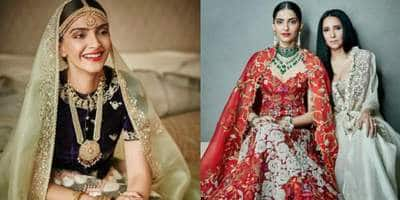 Sonam Kapoor Dressed As A Bride Looks Like She Popped Out Of A Dream Wedding