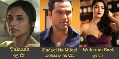 13 Bollywood Actors Who Missed The 100 Crore Mark By A Close Margin
