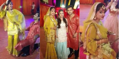 Check Out The Pictures And Videos From Shoaib Ibrahim And Dipika Kakar's Sangeet Ceremony!