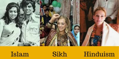 22 Bollywood And Hollywood Celebs Who Changed Their Religion!