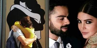 Virat Kohli Just Shared The Most Romantic Picture With His 'One And Only' Anushka Sharma