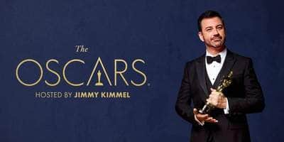 Oscars 2018 LIVE: Host Jimmy Kimmel addresses elephant in the room, Sam Rockwell wins first award