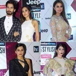 HT India's Most Stylish 2018: Monochrome looks were the trend of the night