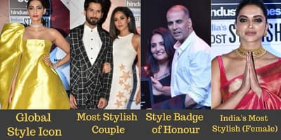 See The Complete List Of Winners Of HT India's Most Stylish Awards 2018