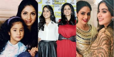 20 Rare And Unseen Pics Of Janhvi Kapoor With Her Mother Sridevi