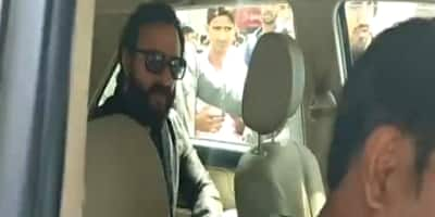 Saif Ali Khan Gets Social Media Flak For Being Impolite To His Driver