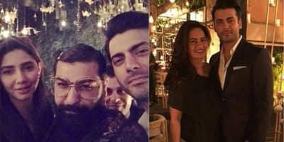 In Pictures: Mahira Khan, Urwa Hoccane Attend Fawad Khan's Wife Sadaf's Birthday!