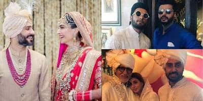 In Pictures: Bollywood Gathers For Sonam Kapoor And Anand Ahuja's Wedding!