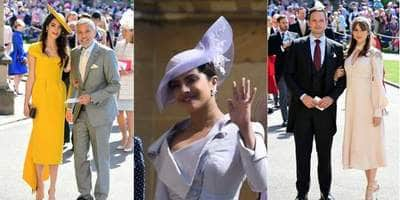 Hollywood Celebs Attend The Royal Wedding Of Prince Harry And Meghan Markle