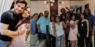 In Pictures: Karan Patel, Ankita, Ekta Kapoor Party Hard At Anita Hassanandani's Housewarming Party!