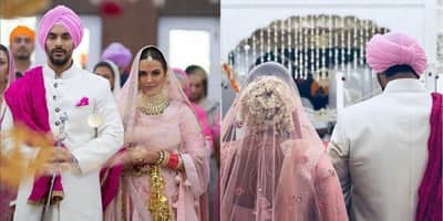 All The Pictures From Angad Bedi And Neha Dhupia's Secret Wedding Ceremony!