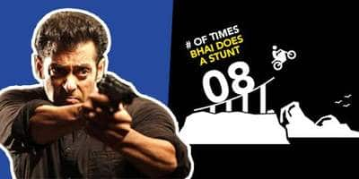 Salman Khan's Race 3 Trailer Stats: Here's How Many Bullets Bhai Has Fired And Has Beaten Up A Guy