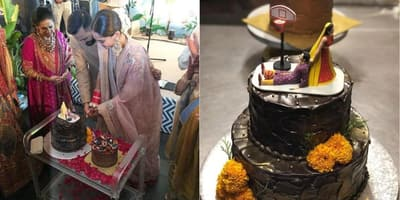 Have You Seen Sonam Kapoor And Anand Ahuja's Wedding Cake?